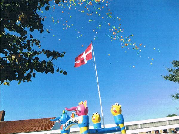 Balloner til vejrs