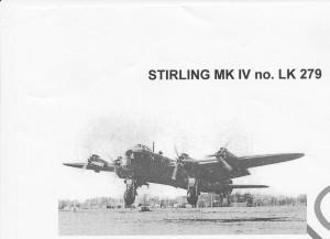 16 Stirling fly med våben og sprængstoffer