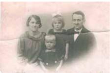 Karen, Aage, Annelise og Kaj